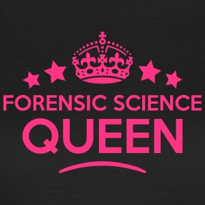forensic science queen keep calm style c WOMENS T- - Women's T-Shirt