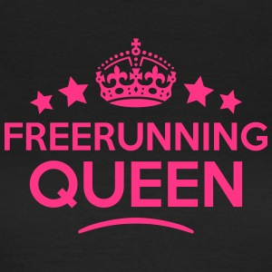 freerunning queen keep calm style WOMENS T-SHIRT - Women's T-Shirt