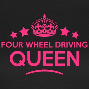 four wheel driving queen keep calm style WOMENS T- - Women's T-Shirt