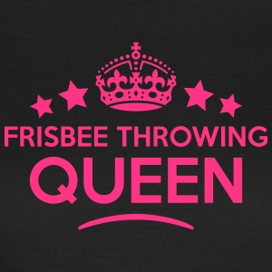 frisbee throwing queen keep calm style c WOMENS T- - Women's T-Shirt