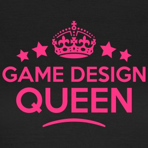 game design queen keep calm style WOMENS T-SHIRT - Women's T-Shirt
