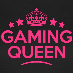 gaming queen keep calm style WOMENS T-SHIRT - Women's T-Shirt