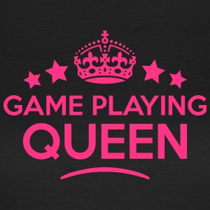 game playing queen keep calm style WOMENS T-SHIRT - Women's T-Shirt