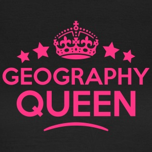 geography queen keep calm style WOMENS T-SHIRT - Women's T-Shirt