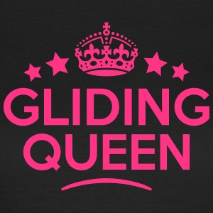 gliding queen keep calm style WOMENS T-SHIRT - Women's T-Shirt