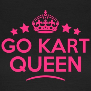 go kart queen keep calm style WOMENS T-SHIRT - Women's T-Shirt