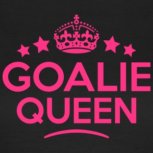 goalie queen keep calm style WOMENS T-SHIRT - Women's T-Shirt