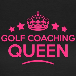 golf coaching queen keep calm style WOMENS T-SHIRT - Women's T-Shirt