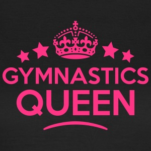 gymnastics queen keep calm style WOMENS T-SHIRT - Women's T-Shirt