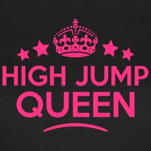 high jump queen keep calm style WOMENS T-SHIRT - Women's T-Shirt