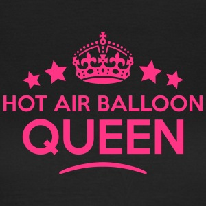 hot air balloon queen keep calm style co WOMENS T- - Women's T-Shirt