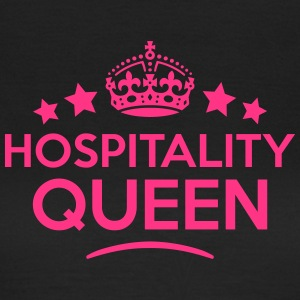 hospitality queen keep calm style WOMENS T-SHIRT - Women's T-Shirt