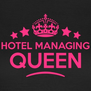 hotel managing queen keep calm style cop WOMENS T- - Women's T-Shirt