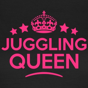 juggling queen keep calm style WOMENS T-SHIRT - Women's T-Shirt