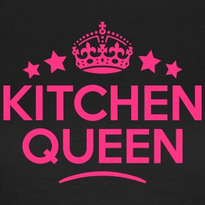 kitchen queen keep calm style WOMENS T-SHIRT - Women's T-Shirt