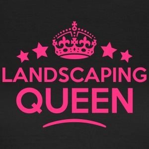 landscaping queen keep calm style WOMENS T-SHIRT - Women's T-Shirt