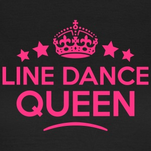 line dance queen keep calm style WOMENS T-SHIRT - Women's T-Shirt