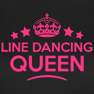 line dancing queen keep calm style WOMENS T-SHIRT - Women's T-Shirt