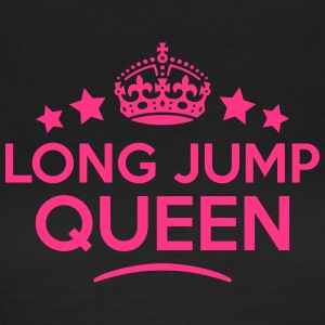 long jump queen keep calm style WOMENS T-SHIRT - Women's T-Shirt