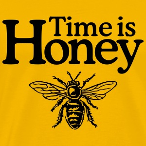 Time is Honey Beekeeper T-Shirt - Men's Premium T-Shirt