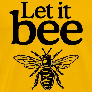 Beekeeper T-Shirt Let it Bee - Men's Premium T-Shirt