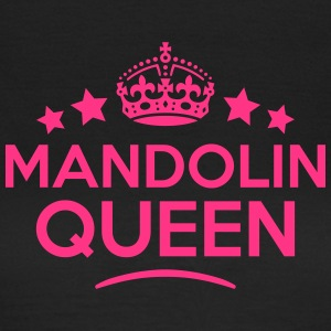 mandolin queen keep calm style WOMENS T-SHIRT - Women's T-Shirt