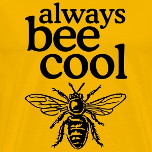 Beekeeper T-Shirt Always bee cool - Men's Premium T-Shirt