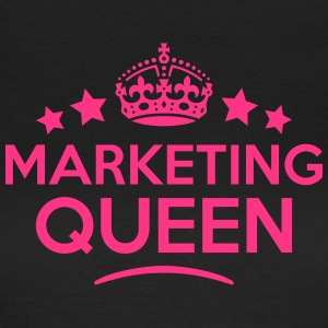 marketing queen keep calm style WOMENS T-SHIRT - Women's T-Shirt