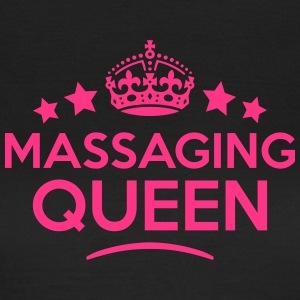 massaging queen keep calm style WOMENS T-SHIRT - Women's T-Shirt