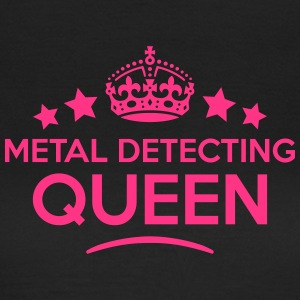 metal detecting queen keep calm style co WOMENS T- - Women's T-Shirt