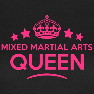 mixed martial arts queen keep calm style WOMENS T- - Women's T-Shirt