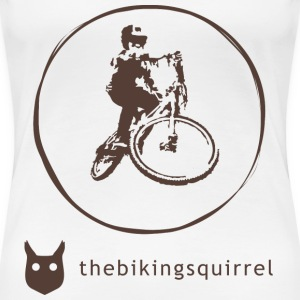 thebikingsquirrel Text T-Shirts - Women's Premium T-Shirt