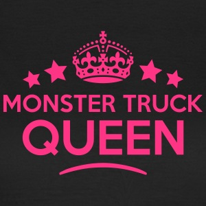 monster truck queen keep calm style WOMENS T-SHIRT - Women's T-Shirt