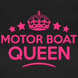 motor boat queen keep calm style WOMENS T-SHIRT - Women's T-Shirt
