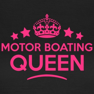 motor boating queen keep calm style WOMENS T-SHIRT - Women's T-Shirt