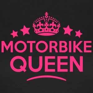 motorbike queen keep calm style WOMENS T-SHIRT - Women's T-Shirt