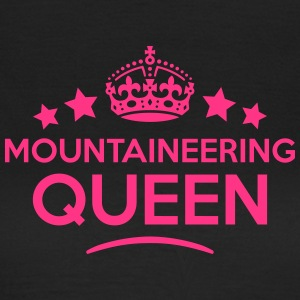mountaineering queen keep calm style cop WOMENS T- - Women's T-Shirt