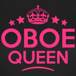 oboe queen keep calm style WOMENS T-SHIRT - Women's T-Shirt