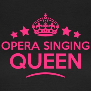 opera singing queen keep calm style WOMENS T-SHIRT - Women's T-Shirt