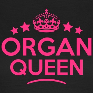 organ queen keep calm style WOMENS T-SHIRT - Women's T-Shirt