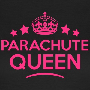parachute queen keep calm style WOMENS T-SHIRT - Women's T-Shirt