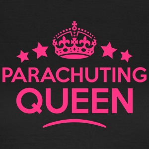 parachuting queen keep calm style WOMENS T-SHIRT - Women's T-Shirt
