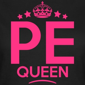 pe queen keep calm style WOMENS T-SHIRT - Women's T-Shirt