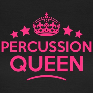 percussion queen keep calm style WOMENS T-SHIRT - Women's T-Shirt