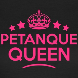 petanque queen keep calm style WOMENS T-SHIRT - Women's T-Shirt
