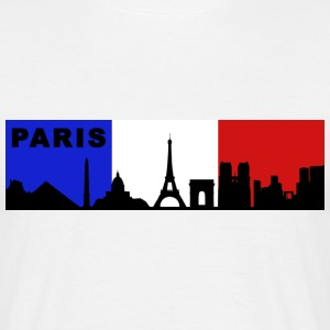 Paris France - T-shirt Homme