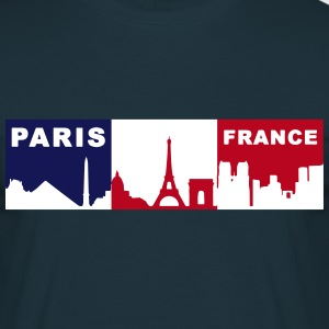 Paris France 33 - T-shirt Homme
