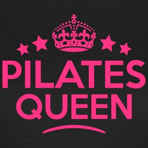pilates queen keep calm style WOMENS T-SHIRT - Women's T-Shirt