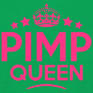 pimp queen keep calm style WOMENS T-SHIRT - Men's T-Shirt
