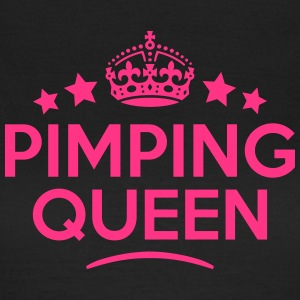 pimping queen keep calm style WOMENS T-SHIRT - Women's T-Shirt